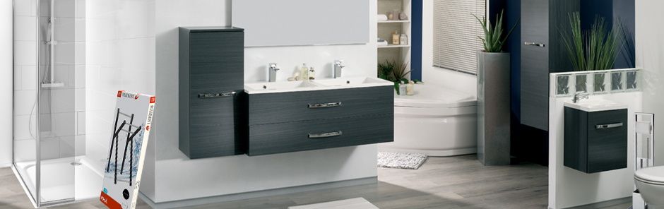 equipements salle de bain wc douche baln o. Black Bedroom Furniture Sets. Home Design Ideas